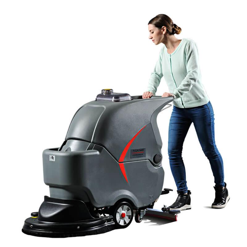 高美GM56B静音型自动洗地机  手推式洗地机  自走式洗地机