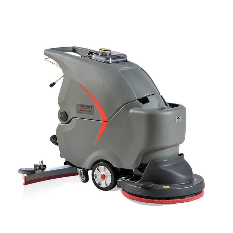 高美GM56BT手推式洗地机 全自动大刷盘洗地机